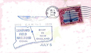 Bernard Field, Hartford Ct. - 1929