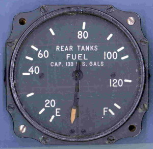 Lockheed PV-1 Ventura Rear Fuel Tanks Gauge