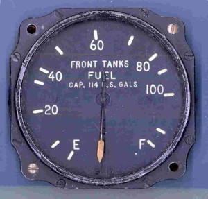 Lockheed PV-1 Ventura Front Fuel Tanks Gauge