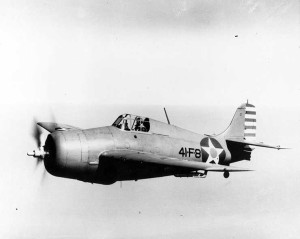 U.S. Navy Wildcat Fighter U.S. Navy Photo