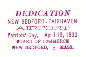 New Bedford - Fairhaven Airport - 1930