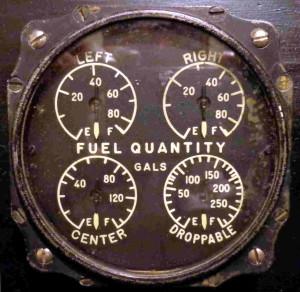 Grumman TBM-3E Avenger Fuel Gauge