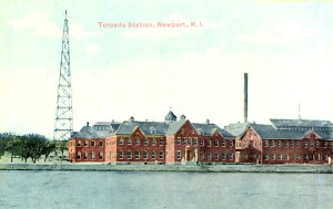 Early Post Card View Of The U.S. Navy Torpedo Station, Newport, R.I.