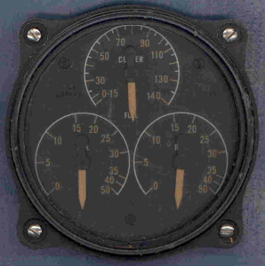 U.S. Navy OS2U Kingfisher Fuel Gauge