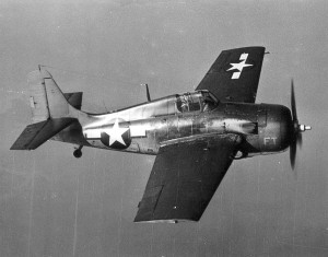 U.S. Navy Wildcat like the one Lt. Jg. Cassidy vanished in March 30, 1943. U.S. Navy Photo
