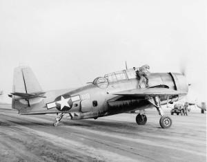 TBM-3E Avenger National Archives Photo