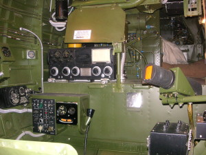 Photo showing the interior restoration of the  TBM-3E Bu. No. 53914 Photo by Jim Ignasher