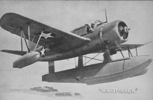 OS2U Kingfisher U.S. Navy Photo