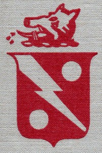 Red Rippers squadron insignia