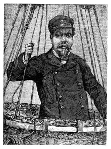 19th Century Illustration Of An Early Aeronaut