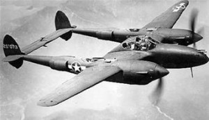 P-38 Lightning U.S. Air Force photo