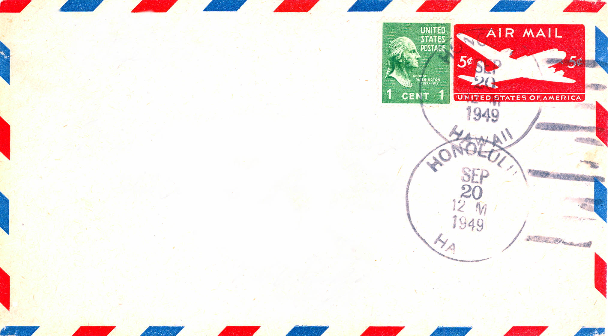 costa rica air mail stamp