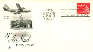 1962 Air Mail First Day Issue