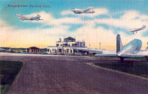 Early Post Card View Of Brainard Field,  Hartford, Connecticut