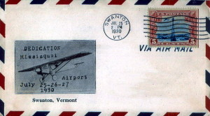 Missisquoi Airport Dedication Cover Swanton, Vermont