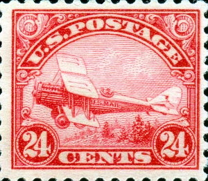 De Havilland DH-4 Biplane Issued August 21, 1923