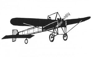 early monoplane illustration