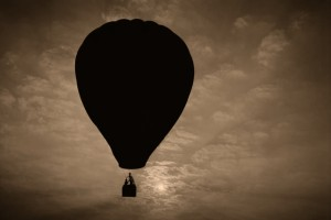 old balloon