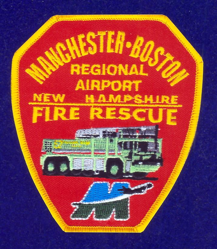 Manchester Boston Regional Airport Mht: Manchester Boston Regional Airport Patch