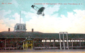 Post Card View Of The Former Narragansett Park in R.I. - Circa 1910