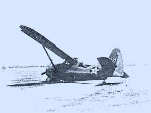 U.S. Air Corps O-52 Aircraft #40-2713 U.S. Army Air Corps Photo Ft. Devens, Mass.  May 4, 1942