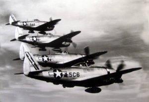 P-47 Thunderbolt Fighter Aircraft U.S. Air Force Photo
