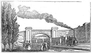 1845 Train Illustration