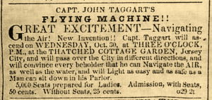 Advertisement from the New York Daily Tribune October 29, 1850