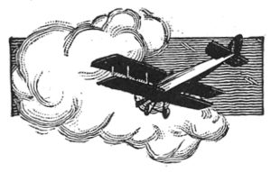 1920s-plane-in-clouds