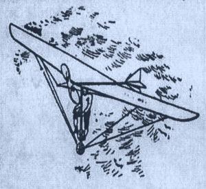 """The Duryea """"Skycycle"""" - 1893 Illustration - Phillipsburg Herald, April 13, 1893"""